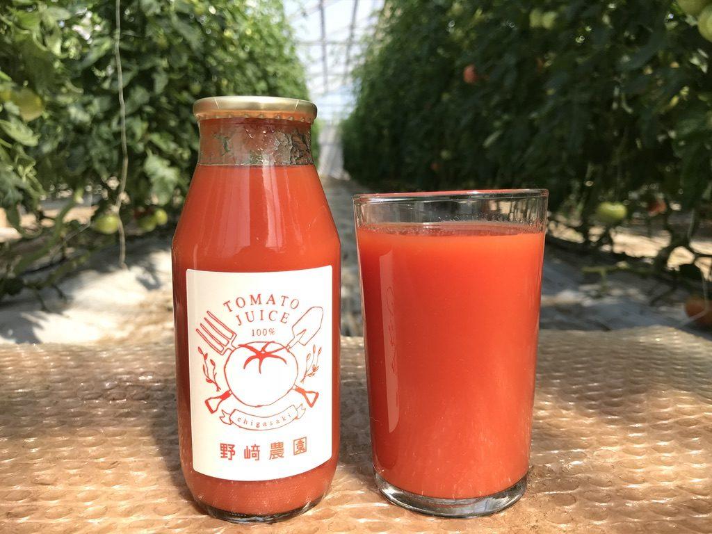 野﨑農園トマトジュース